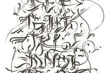 lettering I like