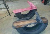 tyre DIY toys
