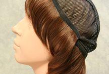 髪の毛帽子WithWig / がん治療などの脱毛時に最適な帽子と一緒に使うハーフウィッグ