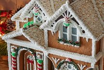 Gingerbread Houses / Ideas for creating gingerbread houses. / by Savannah Harbor Gingerbread Village Competition