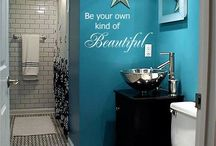 Bathroom ideas / by Rebeca Martinez