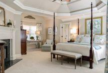 Master Bedrooms / Fancy master #bedrooms we love!