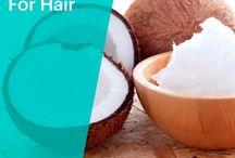 Hair care ~ Coconut oil