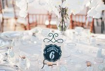 Wedding Decor / Tables, welcome table, etc.