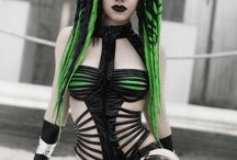 Cybergoth fashion