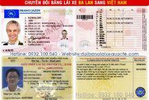 Đổi bằng lái xe Ba Lan sang Việt Nam