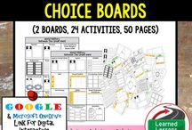 World History Choice Boards