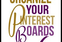 How to org your Pinterest boards