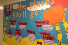 Bulletin board ideas! / by Erika Bourque