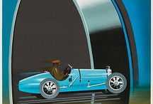 Vintage Posters / Vintage posters of music, automotive, etc