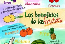 triptico frutas
