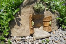 Fairy Houses for Sale Canada / Fairies have very special little houses. Adorable for your fairy garden.