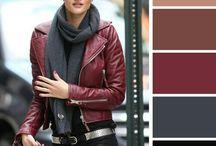 Paletas de cores da Moda