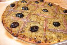 Pizza et Pissaladiere