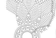 вязаные вазочки, абажуры