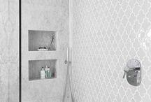 Silver bathrooms