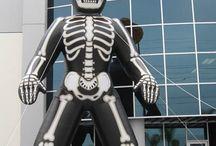 Dia de los Muertos / Inflatables for Dia de los Muertos