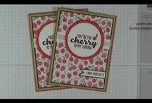 Stampin' Up! Cool Treats Bundle Tasty Treats DSP