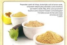 Farinhas / Chia,berinjela,banana verde,...
