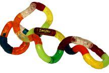 Tangles / Allerlei soorten, maten en kleuren tangles.