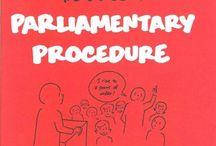 FFA: Parli Pro / Parliamentary Procedure for FFA / by Care Week