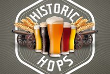 Historic Hops / Fredericksburg, Stafford and Spotsylvainia brewers are marrying something old and something new with something brewed. Historic Hops is comprised of historically-driven beers that share stories from the region's vivid past. Travel through time with a trip through each participating brewery's doors. Share a few pints and a piece of history with Fred.