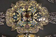Hungarian enamel jewelry