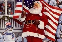 Christmas / What's more American than Christmas? Great ideas to mix Christmas with our Country's rich history!