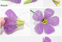 Boncuklu çiçek
