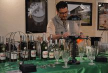 Absinthe Festivals / There are 2 main absinthe festivals taking place every year. One is the Absinthiades in October, in Pontarlier, where the best absinthes are awarded. The other one is the Fête de l'Absinthe in June, in Boveresse. There, absinthe lovers from all over the world come together to drink absinthe and to visit the distilleries of the Val-de-Travers.