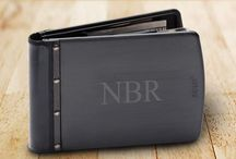 Men's Personalized Wallets and Money Clips - Hot Sellers