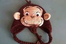 crochet - curious george
