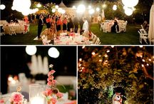 Backyard Wedding / Reception Ideas / by Queen Quiocho