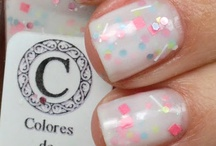 :::Glitter Nails:::