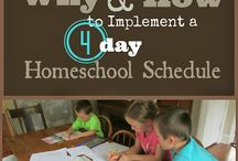 Homeschool Schedules and Records