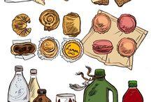 Рисунки еды