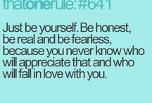 Just Be You!!  / by Kailey Aldridge