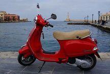 Vespa / Port Chania