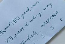 Lettering / by Rachel Golden