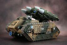 warhammer 40k missile tanks