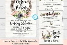 Wedding Invites & More!