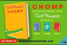 "Chomp / For the Book Club reading ""Chomp"" by Karl Hiaasen"