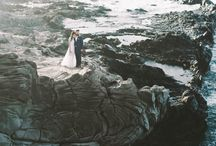 Seaside Elopements / Inspiration For Elopements by the Seaside: Backgrounds, Venues, Decors, Vibe, Food