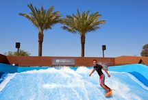 Surf in the desert on the Westin Kierland FlowRider / Come and surf in the Arizona desert at the only Resort in Arizona with its very own FlowRider.