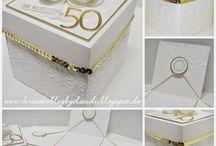 Schachtel Goldene Hochzeit