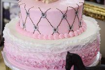 Pony Party Cake Designs