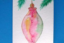 Weihnachtskarten selbstgemacht