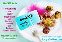 Hungry Goddess Eats Radio / Hungry Goddess Eats Radio is a live Blogtalk Radio Show that is hosted by Kimberly F. Moore (The Hungry Goddess Herself) and Sara Teixido (The Home Cooking Goddess). Each episode features special foodie guests, ingredient and recipe tips for the season, kitchen finds and tools, and more. Kimberly and Sara are food writers, recipe creators and share a passion for all things edible.  Tune in for serious Food for the Ravenous Soul!