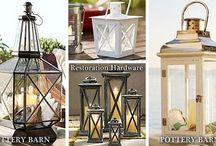 restaurez une lanterne pour décoration