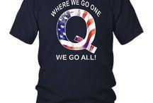 Q Anon Patriotic Flag Where We Go One We Go All Qanon Tee